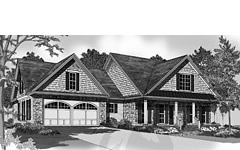 Roof plan, Residential Design for Bluffton South Carolina, Foundation plans