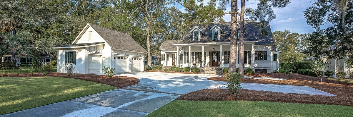 Residential Design for Augusta Coastal Georgia, Cottage Style Floor Plan, Low Country Floor Plan