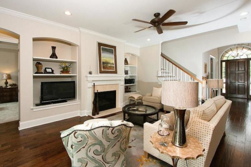 Cottage Style Floor Plan, Residential Design for Savannah, Georgia, Electrical plans